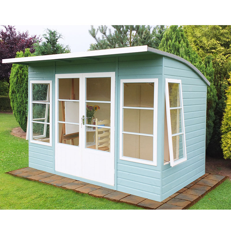 10 x 6 Shire Orchid Contemporary Wooden Garden Summerhouse
