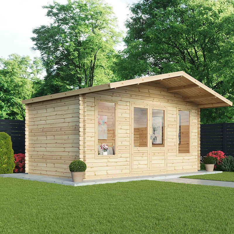 buy log cabins direct