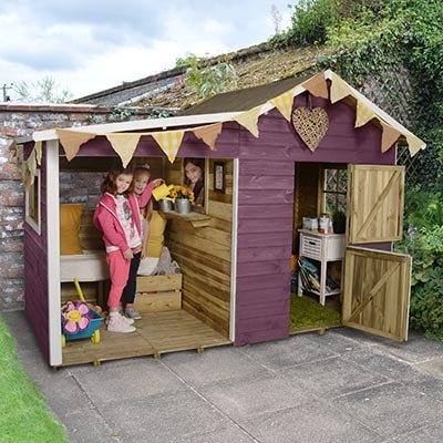 How Playhouses Encourage Outdoor Play
