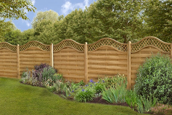 Forest 5'11 x 4'11 Paloma Pressure Treated Decorative Fence Panel