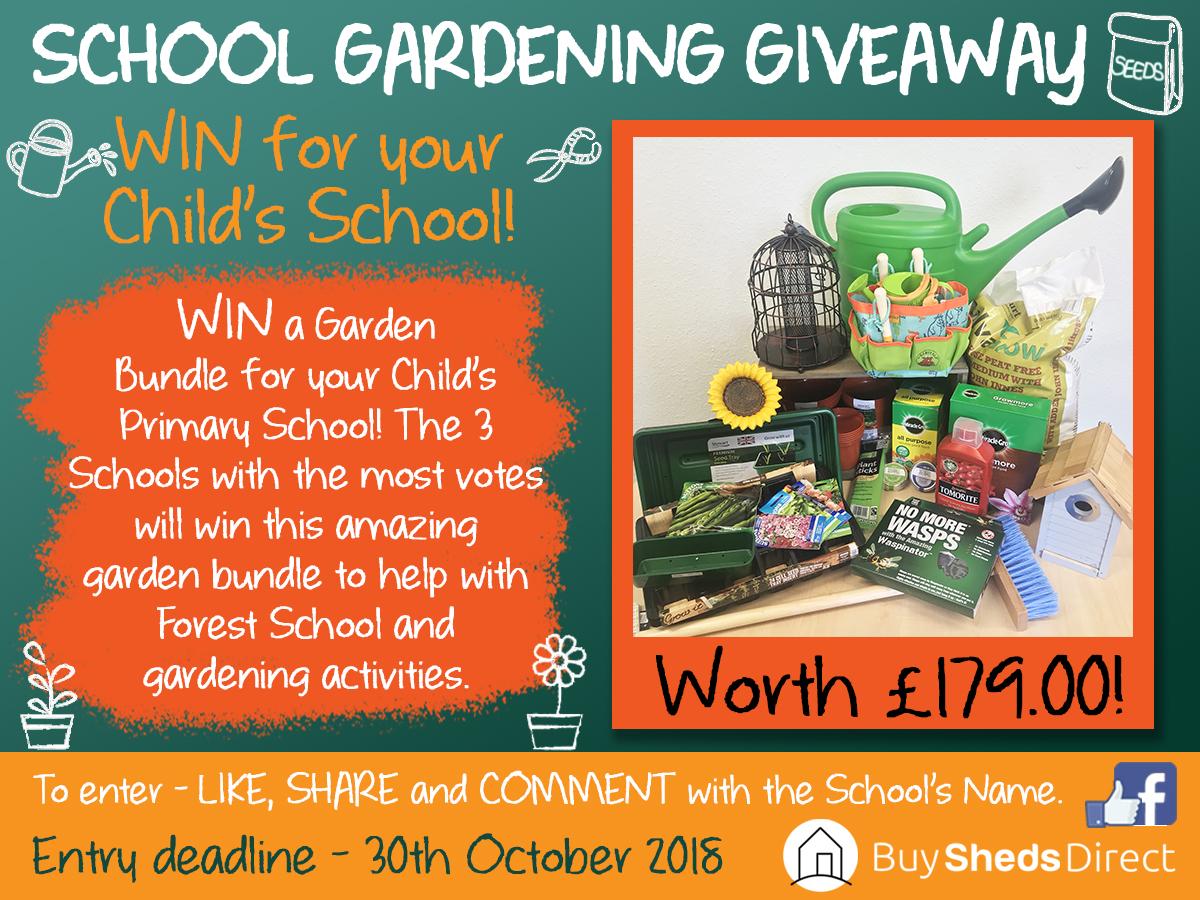 School Gardening Giveaway