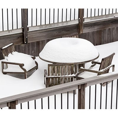 Caring for Your Garden Furniture This Winter