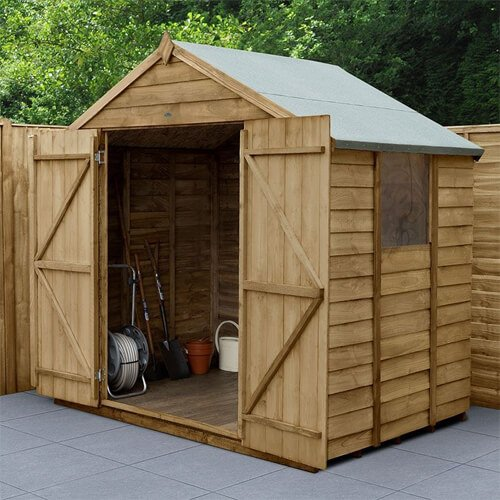 Forest 7x5 Overlap Pressure Treated Shed