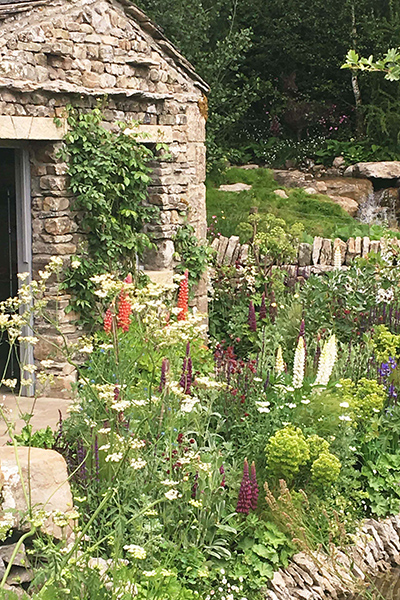 Weclome to Yorkshire Show Garden at the RHS Chelsea Flower Show