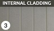 internal cladding