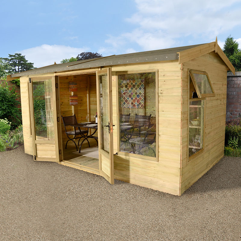 Image of 12x10 Ultimate Harvington Summer House