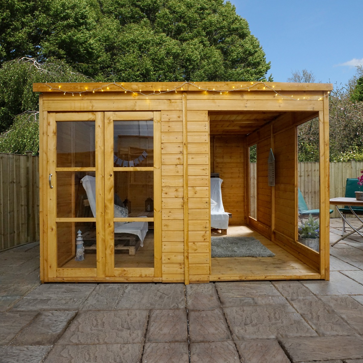 Image of 10x10 Windsor Wooden Garden Room - Pool House