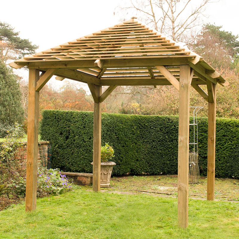 Image of 10x10 Forest Venetian Pavilion Without Deck