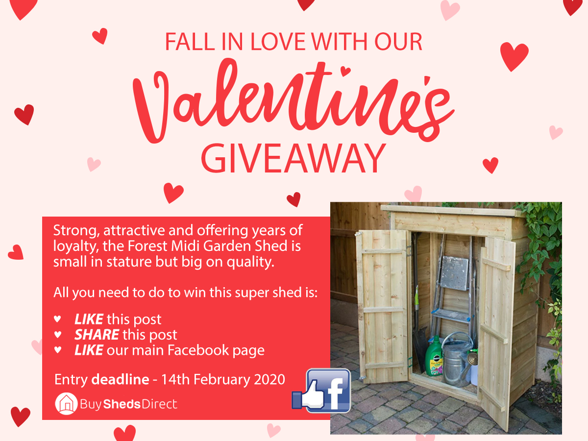 Forest Midi Garden Shed Giveaway