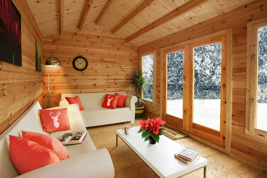 How to turn your shed into a cosy winter hideaway