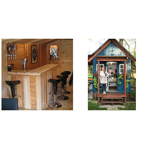 Man Cave Versus She Shed: Which is the Superior Shed?
