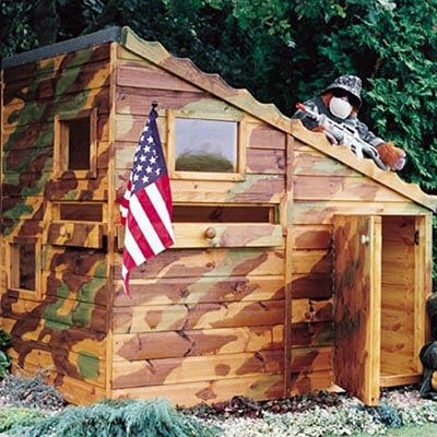 6x4 Shire Command Post Playhouse