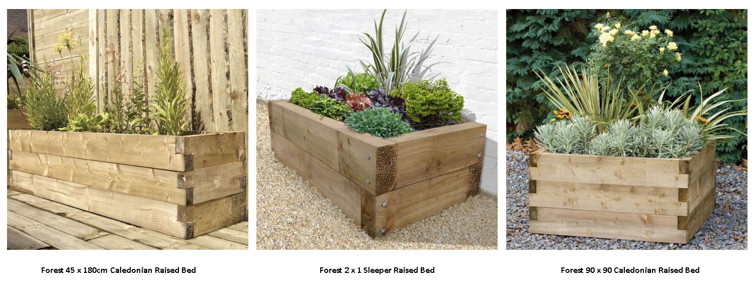 Don't fancy making one? Click here for Forest raised beds