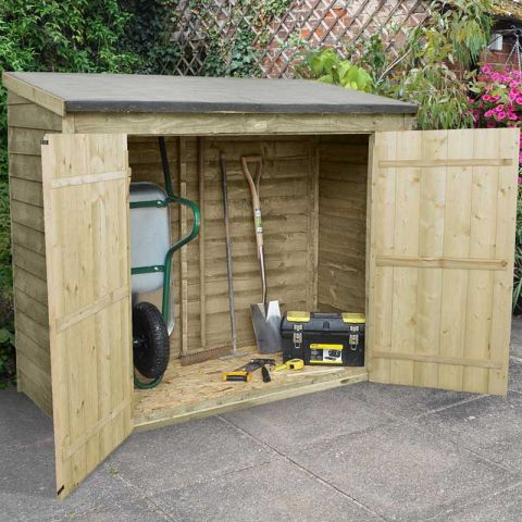 Forest 6 x 3 Pressure Treated Overlap Maxi Wall Store