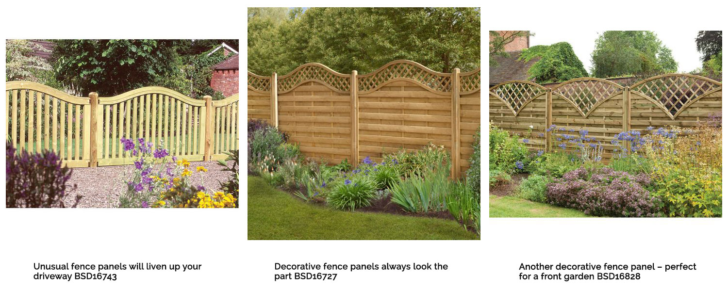 Decorative fence panels excite and inspire