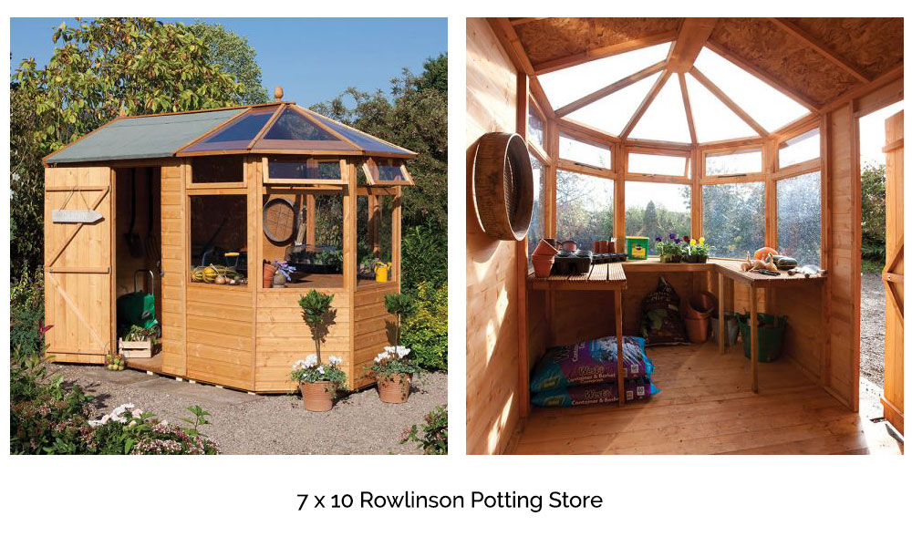 7 x 10 Rowlinson Potting Store