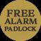Free Alarm Padlock