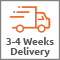 3-4 weeks delivery