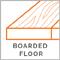 Boarded Floor