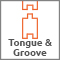 Tongue & groove construction